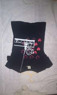 Used.top black lady size s