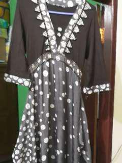 Baju Muslim cantik pulkadot