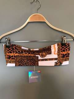 Missguided Bandeau Top