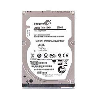 """Seagate 500gb SSHD 2.5"""" Laptop Thin Notebook Disk Drive"""
