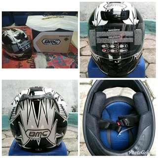 Helm BMC star amoled fullface size L