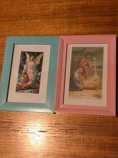 Religious frames x 2 - great for good homes