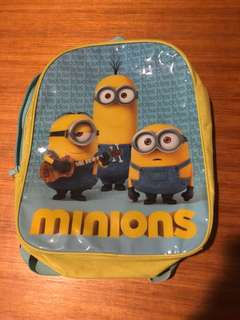 Minion kids waterproof back pack - great for all