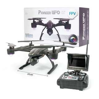 PIONEER® UFO REMOTE CONTROL FIRST PERSON VIEW DRONE
