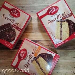 Betty Crocker SuperMoist Cake Mix