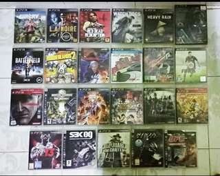 Ps3 Cd Games Borong
