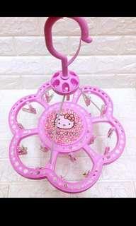 Hello Kitty Round hanger clip