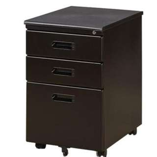 Mobile Pedestal Black