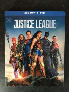 Justice League Blu Ray
