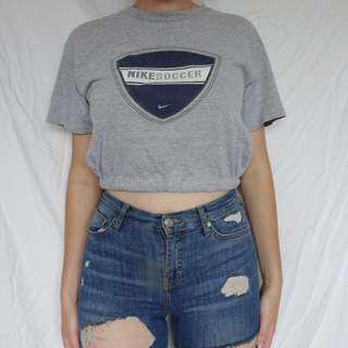 Reworked Nike Croptop