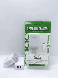 Samsung/Oppo 2 Port Home Charger