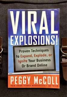 《Preloved Paperback + The Truthful Power Of Online Marketing》Peggy McColl - VIRAL EXPLOSIONS ! : Proven Techniques to Expand, Explode, or Ignite Your Business or Brand Online