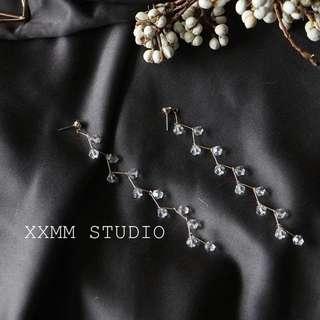 BNIB Dangling Crystal Earrings