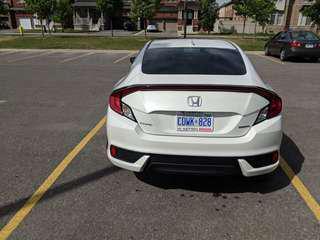2018 Honda Civic Coupe Touring (2 Door)