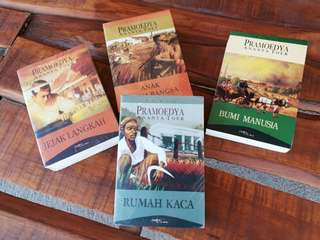 Tetralogi novel bumi manusia