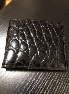 黑色真皮銀包 (real leather wallet)