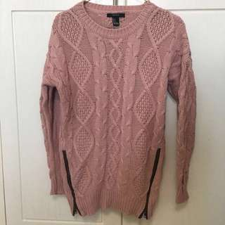 Long knitted top
