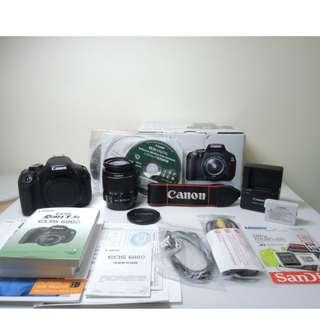 Canon EOS 600D (Body +Lens /相機機身+鏡頭)