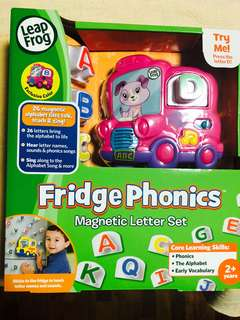 ~Ready Stocked~ LeapFrog Fridge Phonics Magnetic Letter Set - EXCLUSIVE Pink