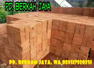 Batu bata merah press jumbo, standar