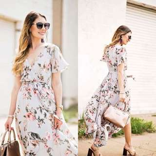 Floral String Dress