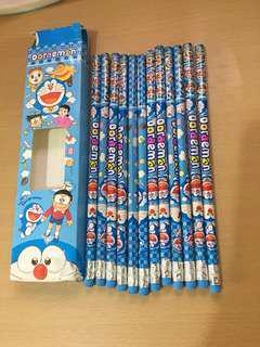 Doraemon Pencils 12 pcs