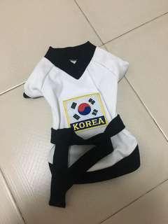 Brand New Korea Taekwondo Outfit for dog