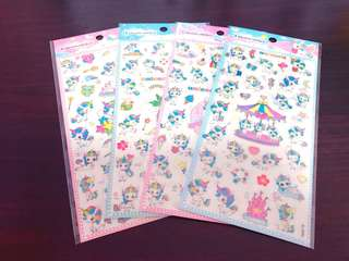 Cute Rainbows Unicorns Stickers
