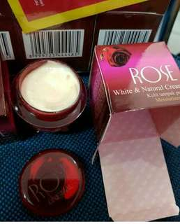 Cream pemitih wajah rose