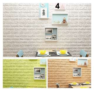 Simulation Brick Pattern Wall Sticker Room Decor