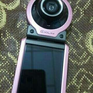🚚 二手~分體式運動相機二代目!CASIO EX-FR100 駕到!