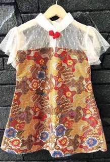 Batik lace baby girl