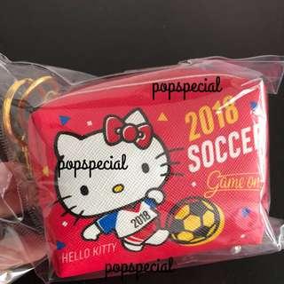 Hello Kitty Soccer Coin Pouch