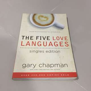 The 5 Love Languages: Singles Edition (Gary Chapman)