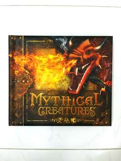 Mythical Creatures by James Harpur Carlton Books (Interactive), 32 pages, Hardcover *Highly Rated and Rare Book* (Fantasy Myths Non-Fiction Reference)