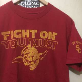 """Ts official Star Wars x Trojans 'YODA' """"Fight On, You Must"""""""