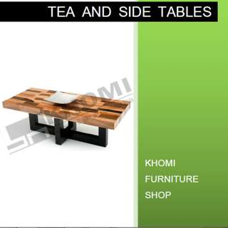 TEA AND SIDE TABLES--KHOMI