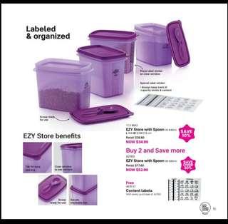 Tupperware EZY store