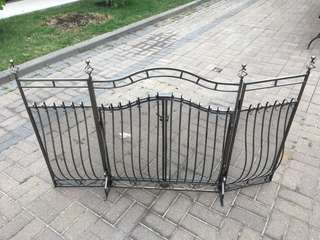 Iron Fireplace Gate