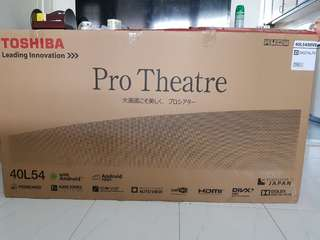 Toshiba 40inches Android. Pro Theatre