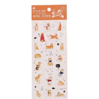 🌟BN INSTOCKS Adorable Shiba Inu Stickers