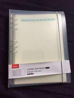 Miniso binder notebook