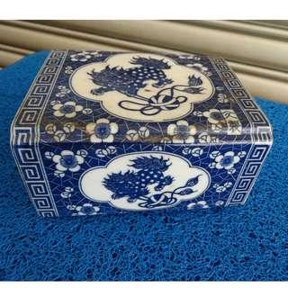 Porcelain Opium Den Pillow -