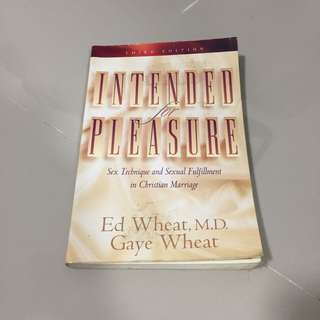 Intended for Pleasure (Ed Wheat, M.D. ; Gaye Wheat)