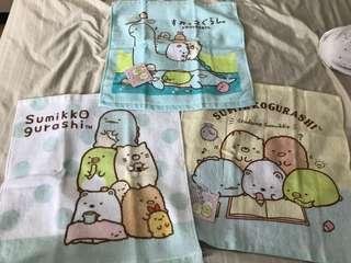 角落生物毛巾