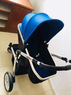 Scr 13 stroller and carseat