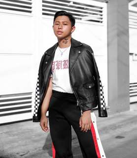 Leather jacket from F21