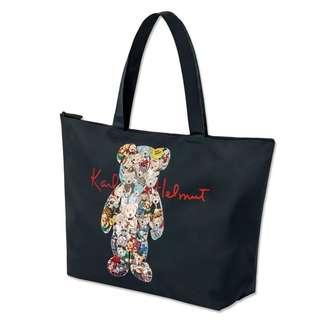 日本雜誌附錄 Karl Helmut 小熊 托特包 旅行袋 波士頓包 健身袋 單肩包 購物袋