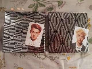 EXO Album - Overdose (Only Kris available)