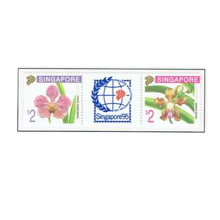 1995 03 Miniature Sheet Singapore Orchid Series (5th Series)